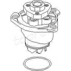 TOPRAN 110929 Water pump