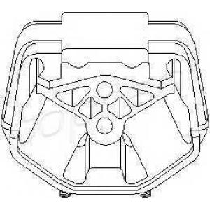 TOPRAN 201352 Gear bracket