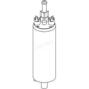 TOPRAN 201614 Fuel pump (outer)