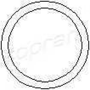 TOPRAN 202 307 Прокладка, корпус термостата Опель Астра