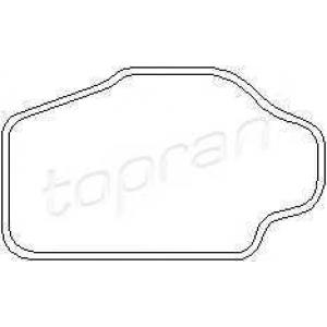 TOPRAN 202 330 Прокладка, термостат Опель Калибра