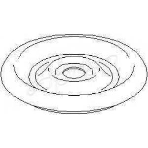TOPRAN 205465 Strut bearing silent
