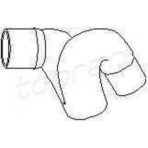TOPRAN 205719 Water pipe