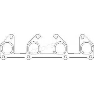 TOPRAN 206602 Exhaust manifold