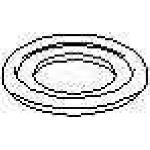 TOPRAN 206 622 Уплотнительное кольцо, резьбовая пр