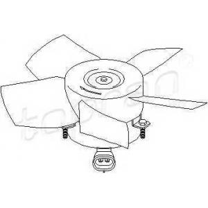 TOPRAN 206947 Fan