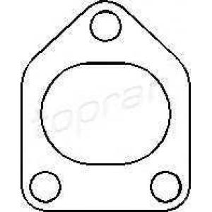 TOPRAN 206954 Turbo gasket