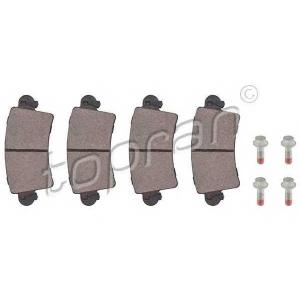 TOPRAN 207087 Brake Pad