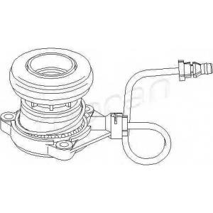 TOPRAN 207973 Cl. release bearing