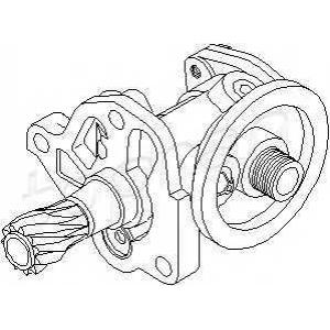 TOPRAN 301520 Oil pump