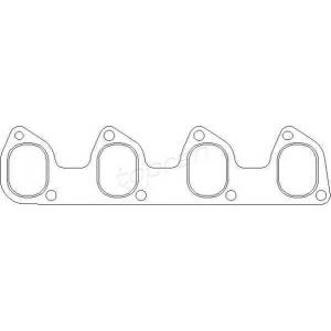 TOPRAN 302266 Inlet manifold