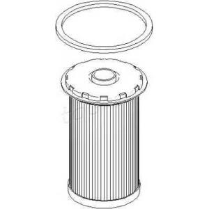 302727 topran Топливный фильтр FORD FOCUS Наклонная задняя часть 1.8 TDCi