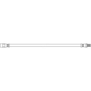 TOPRAN 400217 Rubber brake hose
