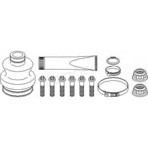 TOPRAN 400719 Half Shaft Boot Kit