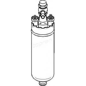 TOPRAN 400898 Топливный насос электрический