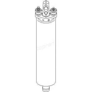 TOPRAN 400 901 Топливный насос электрический