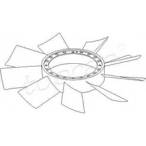 TOPRAN 401004 Fan