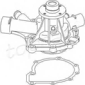 TOPRAN 401177 Water pump