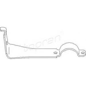 401493 topran Кронштейн, подвеска стабилизато MERCEDES-BENZ седан (W124) седан 200 (124.020)