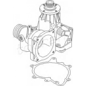 TOPRAN 500309 Water pump