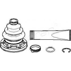 TOPRAN 500600 Half Shaft Boot Kit