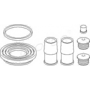 TOPRAN 500955 Brake caliper repair kit