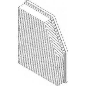 TOPRAN 500962 Air filter