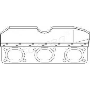 TOPRAN 501275 Exhaust manifold