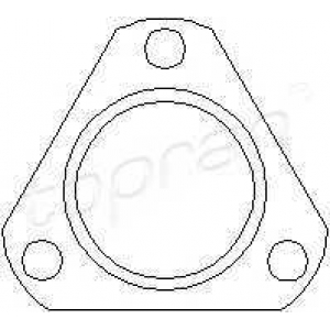 TOPRAN 501280 Exhaust seal