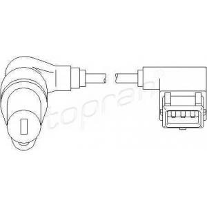 TOPRAN 501294 Sensor, RPM