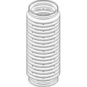 TOPRAN 501 799 Защитный колпак / пыльник, амортизатор