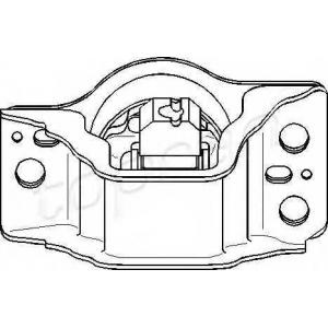 TOPRAN 700532 Подушка двигуна