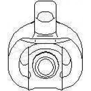 TOPRAN 700618 Резинка глушника