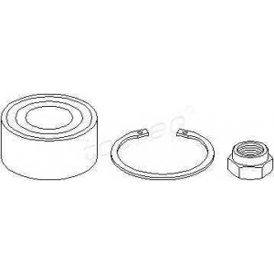 TOPRAN 720199 Hub bearing kit