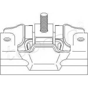 TOPRAN 720355 Подвеска, двигатель