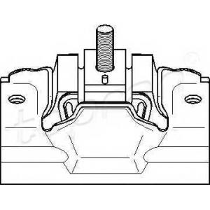 TOPRAN 720366 Подушка двигуна