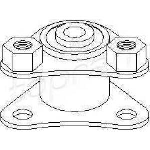 TOPRAN 720 381 Подушка двигателя задн. Fiat Ducato 1.9D-2.8D 03.94-