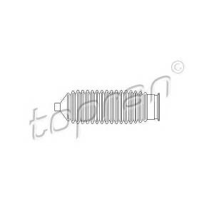 TOPRAN 721140 Пильники рульового