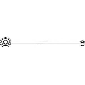 TOPRAN 721 256 Шток вилки переключения передач