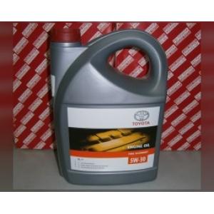 Масло моторное синтетическое ENGINE OIL 5W-30 5л 0888080845 toyota -