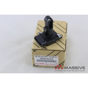 TOYOTA 22204-0L010 METER SUB-ASSY, INTAKE AIR FLOW, 1-2KDFTV, HILUX, FORTUNER `04-