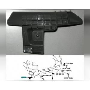 Кронштейн заднего бампера LC-120 5256360021 toyota -