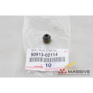 TOYOTA 9091302114 SEAL, VALVE STEM OIL