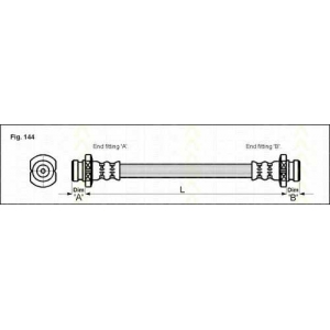 TRISCAN 815021202 Тормозной шланг