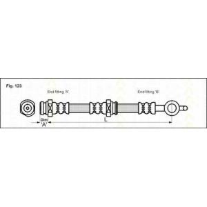 TRISCAN 815050216 Тормозной шланг