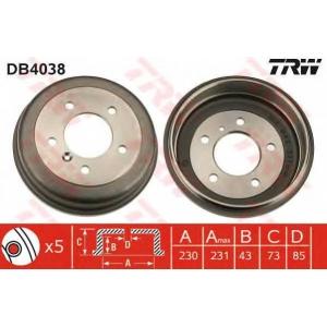 TRW DB4038