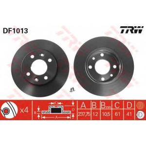 TRW DF1013 DF1013  TRW - Гальмівний диск