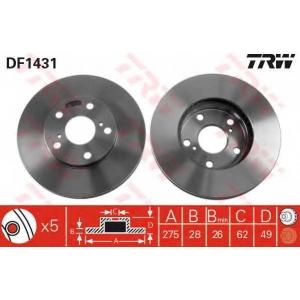 TRW DF1431 диск тормозной