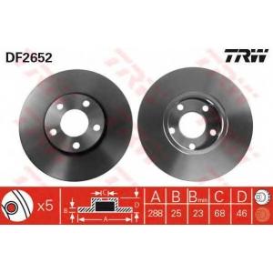 TRW DF2652 Тормозной диск