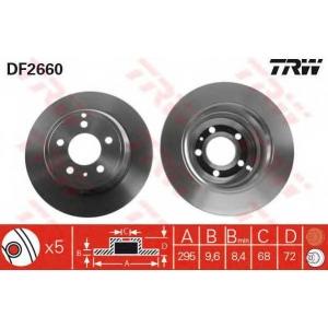 TRW DF2660 Тормозной диск